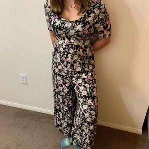 Vintage 90s rampage floral jumpsuit